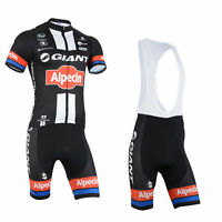 New Men Team mountain Racing MTB Cycling Kit Short Sleeve Jersey and bib Shorts