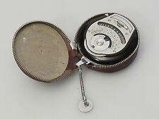 (PRL) BERTRAM CHROSTAR ESPOSIMETRO COLLEZIONE LICHT LIGHT-METER W/ ORIGIN. CASE