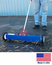 """MAGNETIC SWEEPER Commercial/Industrial - 36"""" Cleaning Path - with Load Release"""