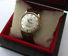Omega Constellation Solid Gold Bezel Case Vintage Automatic Men's Watch Cal. Box