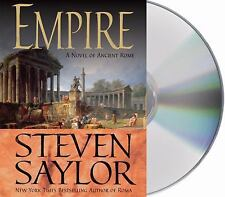 Empire : The Novel of Imperial Rome by Steven Saylor (2010, 19 CD, Unabridged)