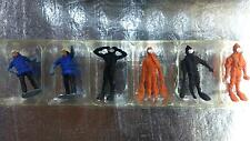 * Merten HO 5012 Rescue Divers of Firebrigade 6 Figures OO / HO Gauge 1:87