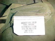 US GI MILITARY COT MOSQUITO / INSECT PROTECTION NETTING - SCREEN - NET - NEW