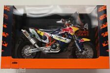 Ktm rally 450 2014 red bull coma No:2 échelle 1:12 motocross modèle dirt bike