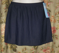 Christina Swim Skirt Navy Blue Size 14 NWT Swimsuit Separate