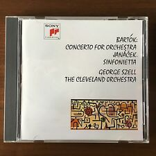 Bartok: Concerto for Orchestra; Janacek - Szell BLU SPEC CD SONY JAPAN