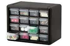 16 Drawer Small Parts Storage Cabinet Tools Organizer Bin Box Container Plastic