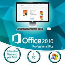 Microsoft Office 2010 Professional Plus - 1PC Vollversion