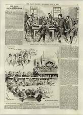 1892 Telegraph Room Grandstand Epsom Gladstone Call To Arms