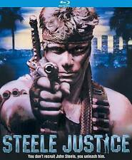 Steele Justice Blu-ray Disc, 2016