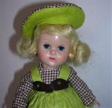 1955 VINTAGE VOGUE GINNY MLW DOLL W/  MERRY MOPPETS #33 SCHOOL GIRL OUTFIT DRESS