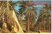 The DATE EMPIRE Trees Harvest Paper Bags 2 Views Indio CALIFORNIA Postcard CA