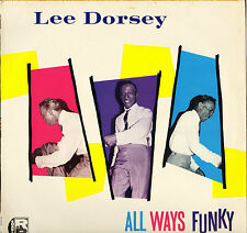 "LEE DORSEY ""ALL WAYS FUNKY"" NEW ORLEANS SOUL 80'S LP CHARLY 1036"