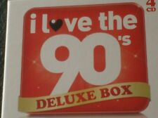 I LOVE THE 90's DELUXE BOX (4 CD box including I love the 90's volumes 1 + 2)