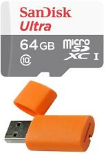 64GB Sandisk Micro SD HC SDXC Memory Card for Samsung Galaxy S3 S4 S5 Cell Phone
