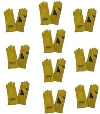 X10 MIG / ARC WELDING GLOVES WELDERS GAUNTLETS BEST QUALITY FOR HAND PROTECTION