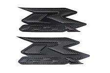 Real Carbon Fiber Stickers Decal 3d Raise R-GSX For GSXR1000 GSXR750 GSXR600