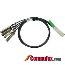 40G-QSFP-4SFP-C-0101 - 40G QSFP+ to 4 SFP+ Copper Cable, 1m (Brocade Compatible)