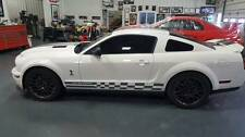 Check Side stripes Stripe Decal Decals FIT 05 07 08 09 2010 2012 2013 14 Mustang