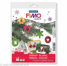 FIMO Soft Christmas Starter Pack Modelling Clay Fun XMAS Set Accessory
