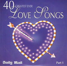 40 LOVE SONGS - PART 1 - MAIL PROMO MUSIC CD