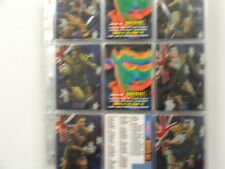 1996 Rugby League Series 1 set of 300 cards & 34 insert/chase cards