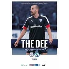 Dundee FC v Forfar Athletic 30/7/2016 match programme Betfred Cup