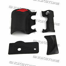 4 pieces RUBBER COVER UNITS COMPLETE RUBBER GRIP REPAIR PART FOR NIKON D200 NEW