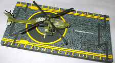 2003 HOT WINGS US Army Boeing AH-64 Apache Helicopter Military Series New witho