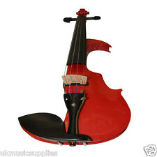 Zest 4/4 full size Electric VCB5  Red Violin High Quality inc big package