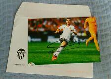 Autografo signed autograph futbol firmado Paco Alcacer Valencia Barcelona