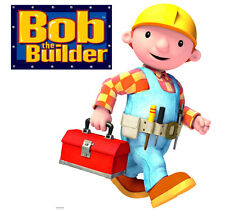 10x Bob The Builder Totally Movable Wall Sticker Decal - Easy Remove / Reuse