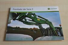 127811) John Deere Frontlader Serie 3 Prospekt 08/2010