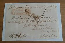 SIR ROBERT INGLIS TORY MP SIGNED FREE FRONT 19th CENTURY OXFORD BEDFORD ETC*