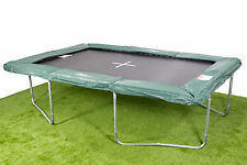 8x12ft IN GROUND Rectangle Trampoline - Inc. Pads/Mat/Springs/Frame