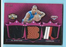 2007-08 Topps Triple Threads Al Horford Game Jersey Patch /Ball 07/18 Hawks
