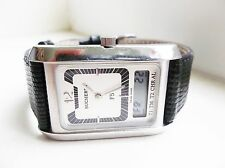 Men's Bucherer Newton 958.500 alarm swiss watch RARE works!