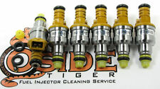 1988 BMW 535is Fuel Injectors Genuine Direct Replacement Bosch 4-Hole Spray!