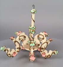 Vintage Spielwaren Dollhouse Furniture - Chandelier Candelabra - Puppen Germany