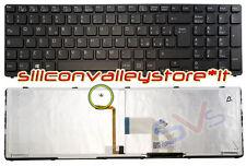 Tastiera Ita Retroilluminata Nero Sony Vaio SVE1512Y1E, SVE1512Y1E/SI