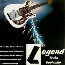 LEGEND In The Beginning CD. A Tribute to The Shadows. Guitar instrumentals. NEW