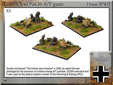 Forged in Battle FOW WW2 15mm German 3.7cm Pak36
