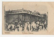 London The Bank Of England Vintage Postcard 477a