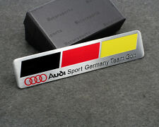 Car Sticker Decal Emblem Badge Germany Flag Logo Styling Accessories for Audi