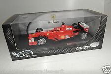 "Hot Wheels 1:18  50202 Ferrari F2001 No1 ""Michael Schumacher"" HELM !! OVP(E7019)"