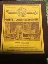 HO Scale White Tower Restaurant-Magnuson Models Kit-Walthers-Complete