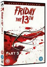 Friday The 13th: Part 3 [DVD] Dana Kimmell, Paul Kratka, Steve Miner Brand New