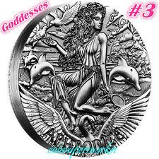 Australia 2015 Goddesses Of Olympus Aphrodite 2oz Silver High Relief Coin Perth!