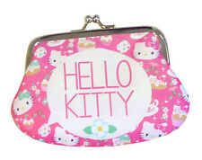 hello kitty TEA PARTY Geldbörse mit Glitzer PORTEMONNAIE mit Clip cool, chic TOP