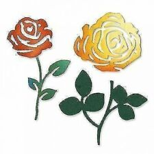 SALE NEW Sizzix Sizzlets Die Roses Flower Set